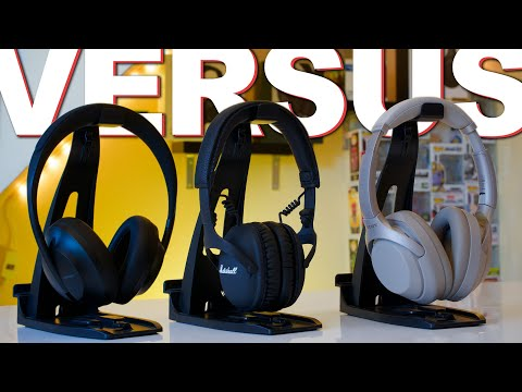 Sony 1000XM3 Vs Bose NC 700 Vs Marshall Monitor 2 ANC
