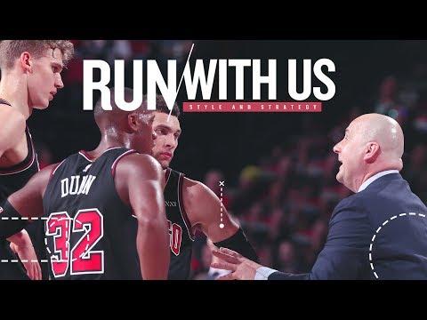 Bulls Coaching Staff Mic'd Up: Bulls vs. Trailblazers -- Run With Us: S2E6