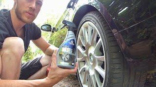 Test rénovateur embellisseur pneus AbelAuto