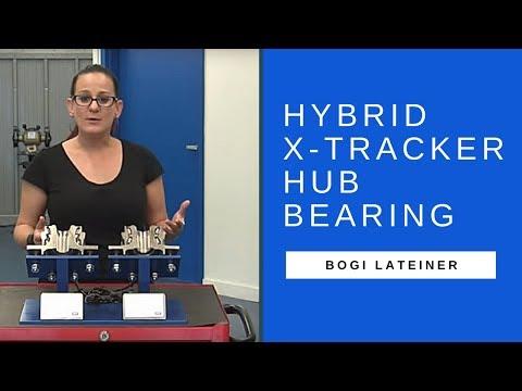SKF Automotive Parts: Hybrid X-Tracker hub bearing with Bogi - YouTube