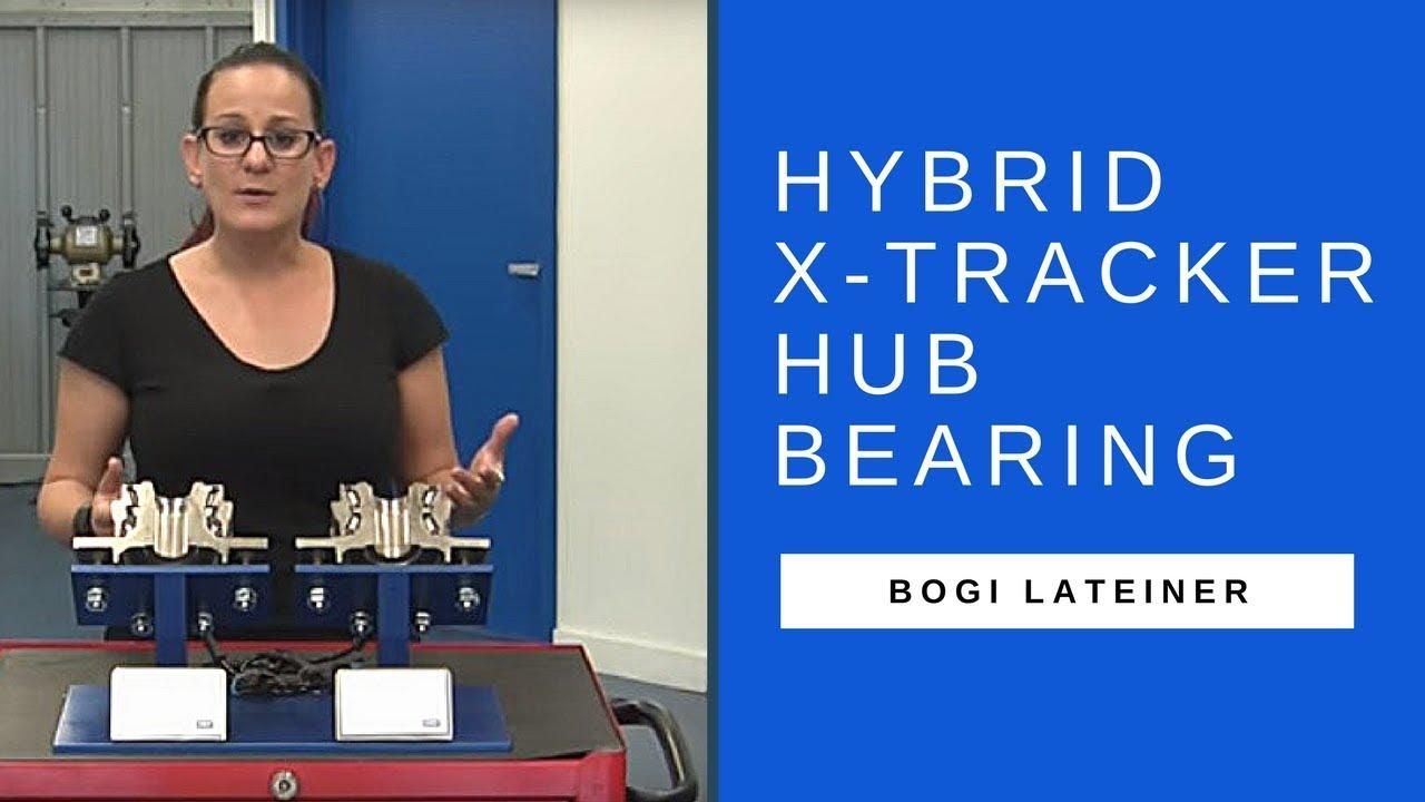 SKF Automotive Parts: Hybrid X-Tracker hub bearing with Bogi