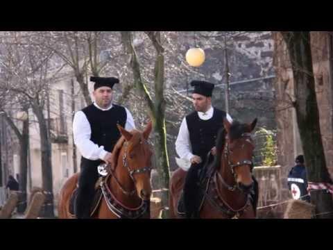 Pentolaccia a cavallo Paulilatino