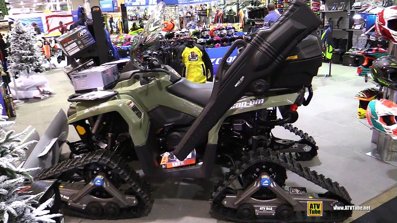 2017 Can Am Outlander 450 with Bronco Accessories - Walkaround - 2017  Toronto ATV Show