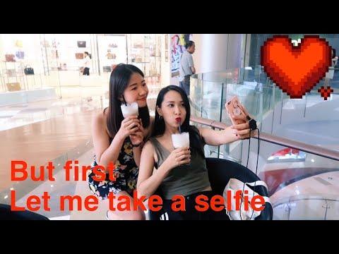 Cómo sacan fotos las asiaticas o las chicas en China. When asian girls take a selfie. 亚洲女生如何自拍