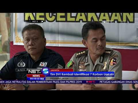 Tim DVI KEmbali Berhasil Identifikasi 7 Korban Lion Air-NET 5 Mp3