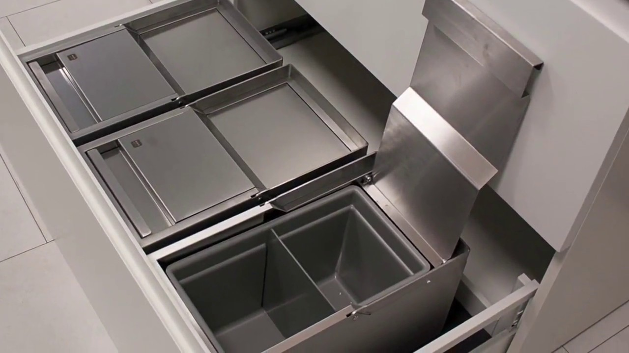 Pattumiera Per Cestone Sottolavello sink-drawer - pattumiere per cestone elite - essetre spa