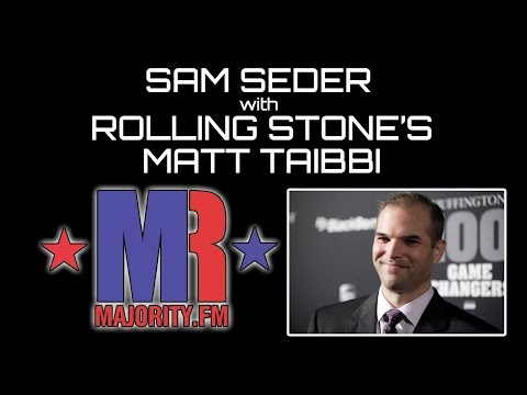 Sam Seder Interviews Rolling Stone's Matt Taibbi - The Ring Of Fire