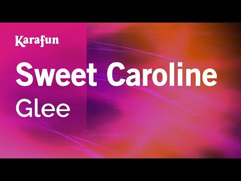Karaoke Sweet Caroline - Glee *