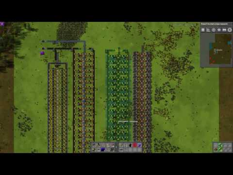 Factorio 0.15 - Upgrade-able Early Game Smelter Tutorial