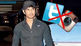 Shocking! Sushant Singh Rajput delete his twitter Account