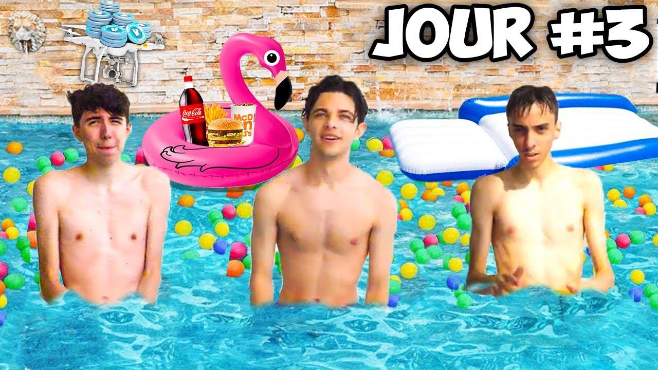 LE DERNIER QUI SORT DE LA PISCINE GAGNE 100 000 V-BUCKS ! (manger dans la piscine)