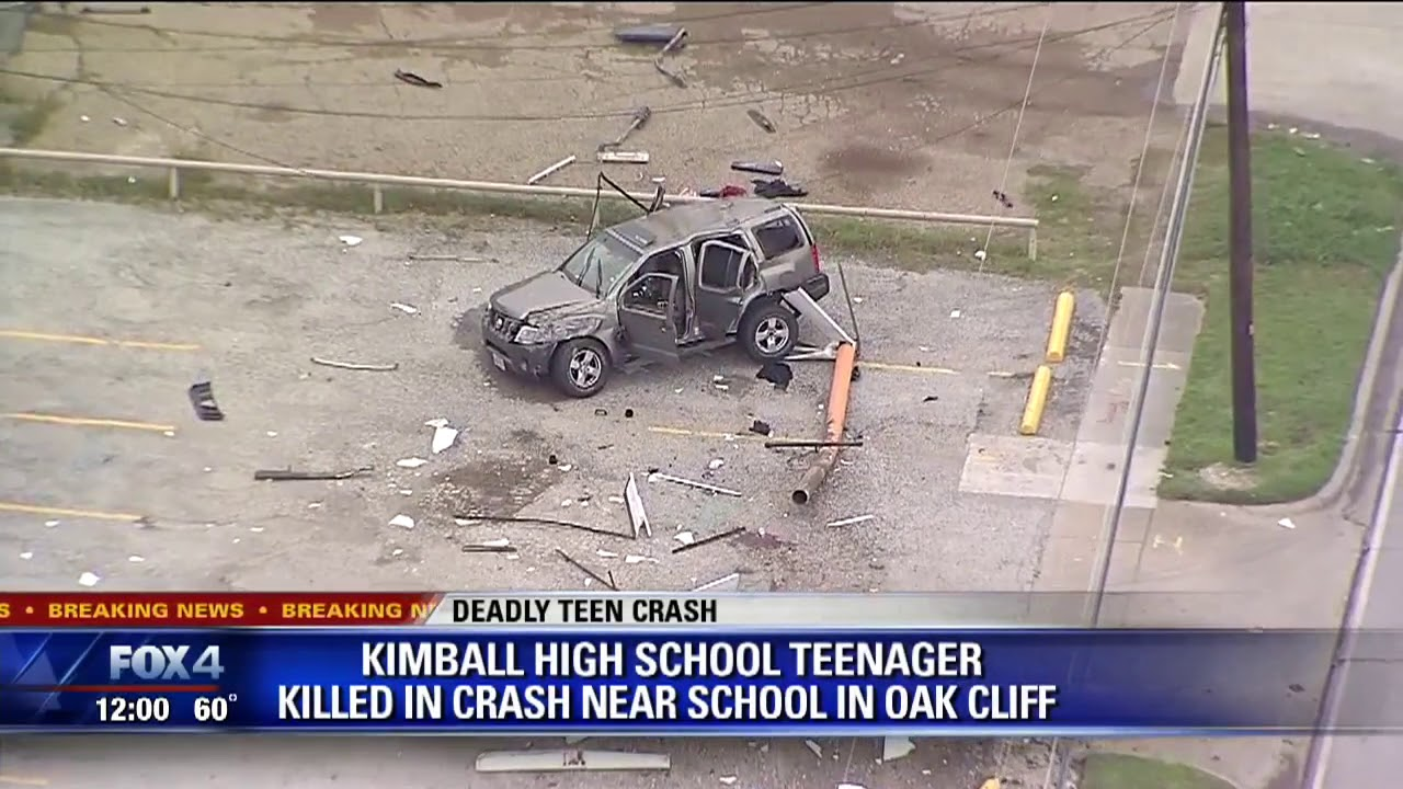 High school students in Dallas involved in deadly crash
