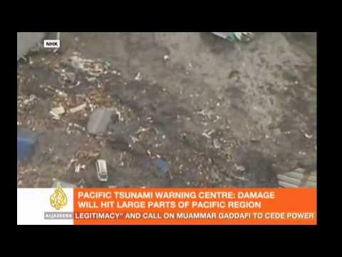 Japan 2011 Tsunami - Port of Kamaishi (Iwate Prefecture), Miyagi Prefecture (HD) 720P