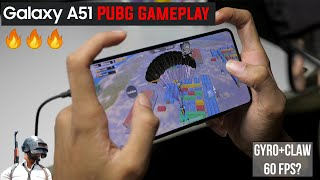 Samsung Galaxy A51 PUBG Mobile Gameplay Review! 60 FPS?