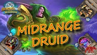 UN MAZZO DA TOP 2 LEGEND!! MIDRANGE DRUID (HEARTHSTONE ITA)