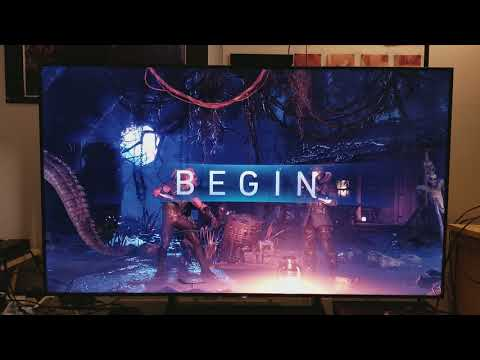 SONY XBR X900E BRAVIA 4K TV - Xbox One X Games Tests with Calibration Part # 1
