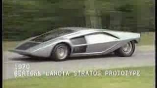 Lancia Stratos Concept Videos