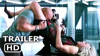 Hobbs & Shaw's Sister Fight Trailer (NEW, 2019) Dwayne Johnson Movie HD