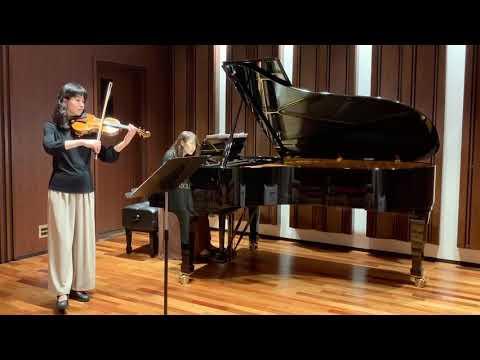 """山田耕作:日本組曲より「さらし」 Kosaku Yamada """"Sarashi""""from Suite Japoneaise for Violin and Piano"""