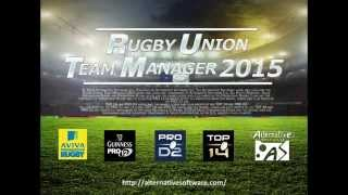 Rugby Union Team Manager 2015 gameplay trailer - HD