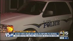 St. John's boy who killed at 8 to return to school