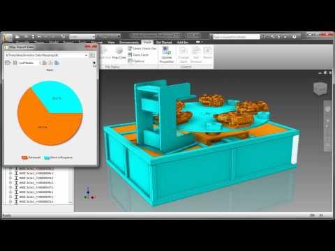 Autodesk Inventor 2011 and Vault 2011 - Visual Data Management