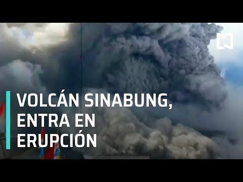 El volcán Sinabung, en Indonesia, entra en erupción  - Despierta