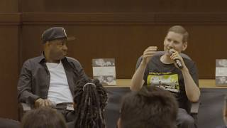 """The History Of Gangster Rap"" Discussion At Barnes & Noble With Author Soren Baker & Dana Dane"