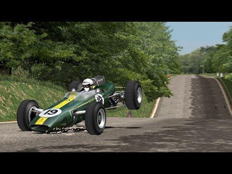 Lotus 33 At Montlhery 1966