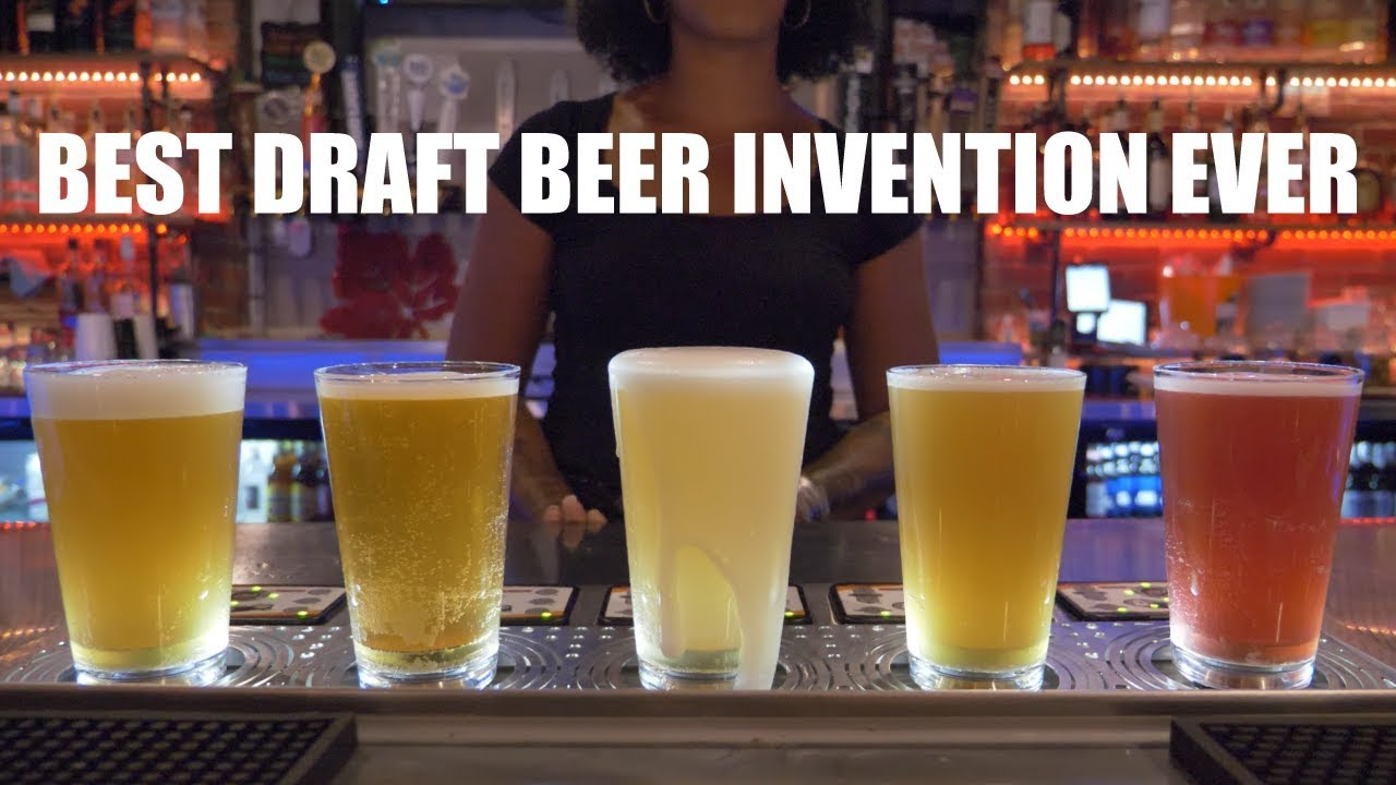 Best Draft Beer Invention Ever - Vicino's Brick and Brew - Bottoms Up Testimonial