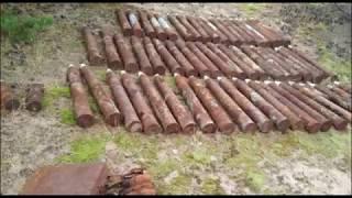 Уничтожение боеприпасов времён Великой Отечественной войны на острове Тютерс