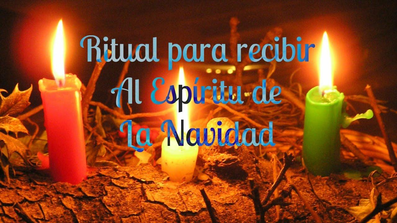 Resultado de imagen para RITUAL DEL ESPÍRITU DE LA NAVIDAD.