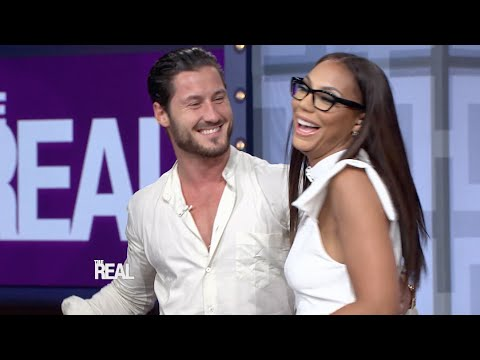 Tamar's 'DWTS' Partner Val Chmerkovskiy Makes a Surprise Visit!