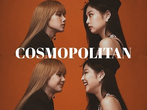 Jenlisa Cosmpolitan BTS [Blackpink Jennie x Lisa]
