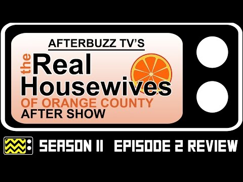 Real Housewives of Orange County Season 11 Episode 2 Review & After Show | AfterBuzz TV