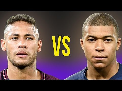 Kylian Mbappe VS Neymar JR - Who Is The King Of PSG? - Amazing Dribbling Skills And Goals - 2018