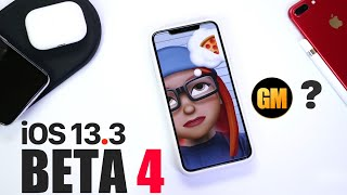 iOS 13.3 Beta 4 GM ?  - What's New