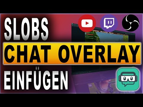 STREAMLABS OBS CHAT OVERLAY (2018) | STREAMLABS OBS TUTORIAL