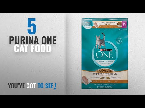 Top 5 Purina One Cat Food [2018 Best Sellers]: Purina ONE Tender Selects Blend With Real Chicken Dry