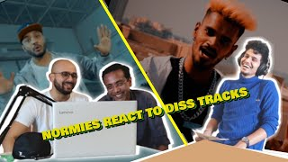 NORMIES REACT TO DESI DISS TRACKS Episode 3 ft. @Raftaar @DIVINE @KRSNA @Emiway Bantai and more!