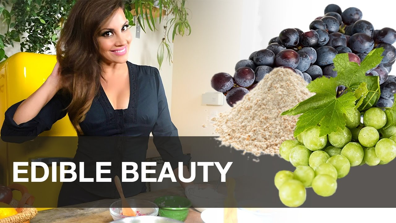How To Make Grape Face Mask At Home foto