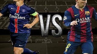 Lionel Messi VS Zlatan Ibrahimovic SKLLIS & Goals Battle 2015\2016 HD
