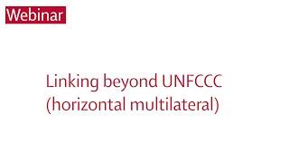 Image for vimeo videos on Webinar I: Linking beyond UNFCCC (horizontal multilateral)