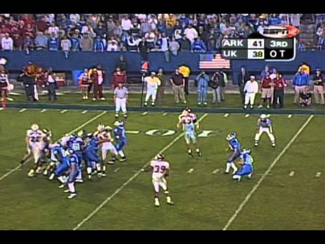 Arkansas vs. Kentucky 2003 (7-OT)