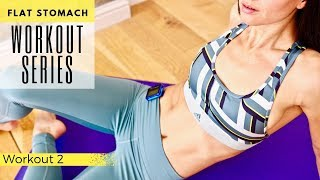 Flat Stomach Workout Series | Workout 2 | 5 Minute HIIT
