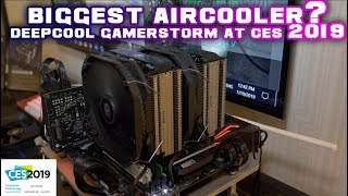 DeepCool Gamerstorm at CES 2019 - ASSASSIN III aircooler and MORE!