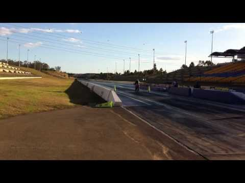 TRX850 Drag race