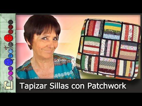 Cómo Tapizar una Silla con Patchwork [Tutorial]