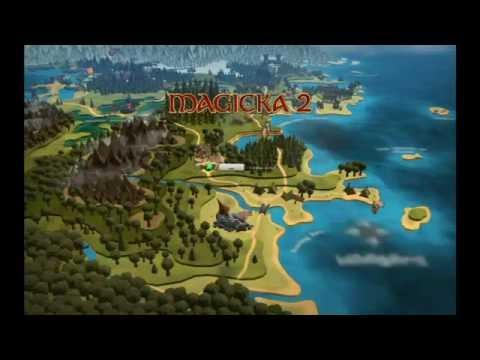 Обзор игры Magicka 2 #1 |