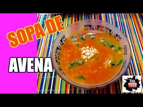 La mejor sopa de avena☺️ Fácil de hacer.
